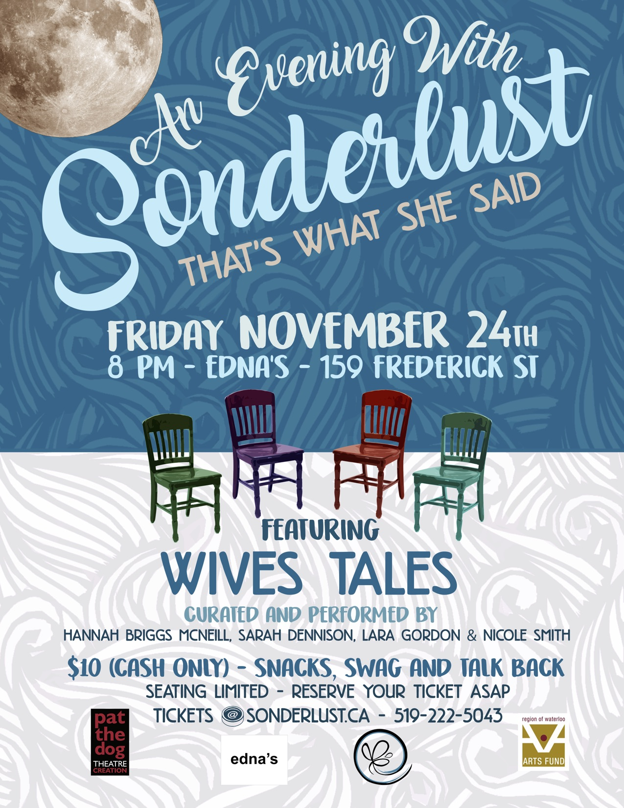 An Evening With Sonderlust (Poster)